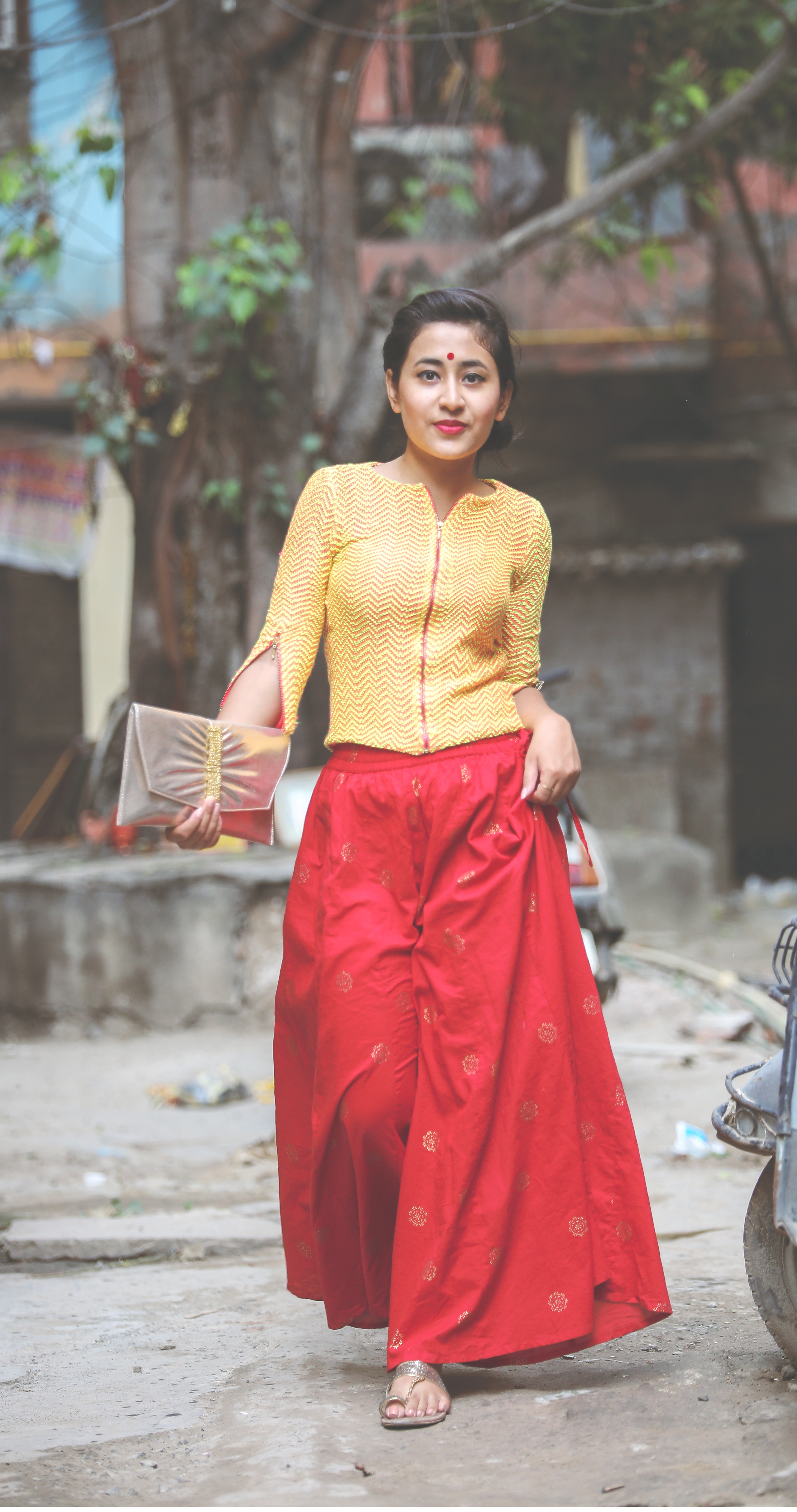 indo-western outfit