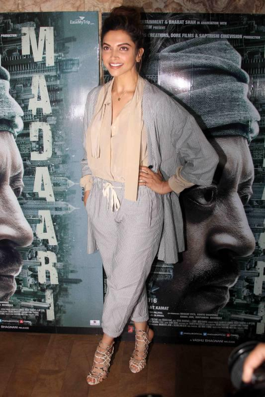 Deepika Padukone At Madari Screening