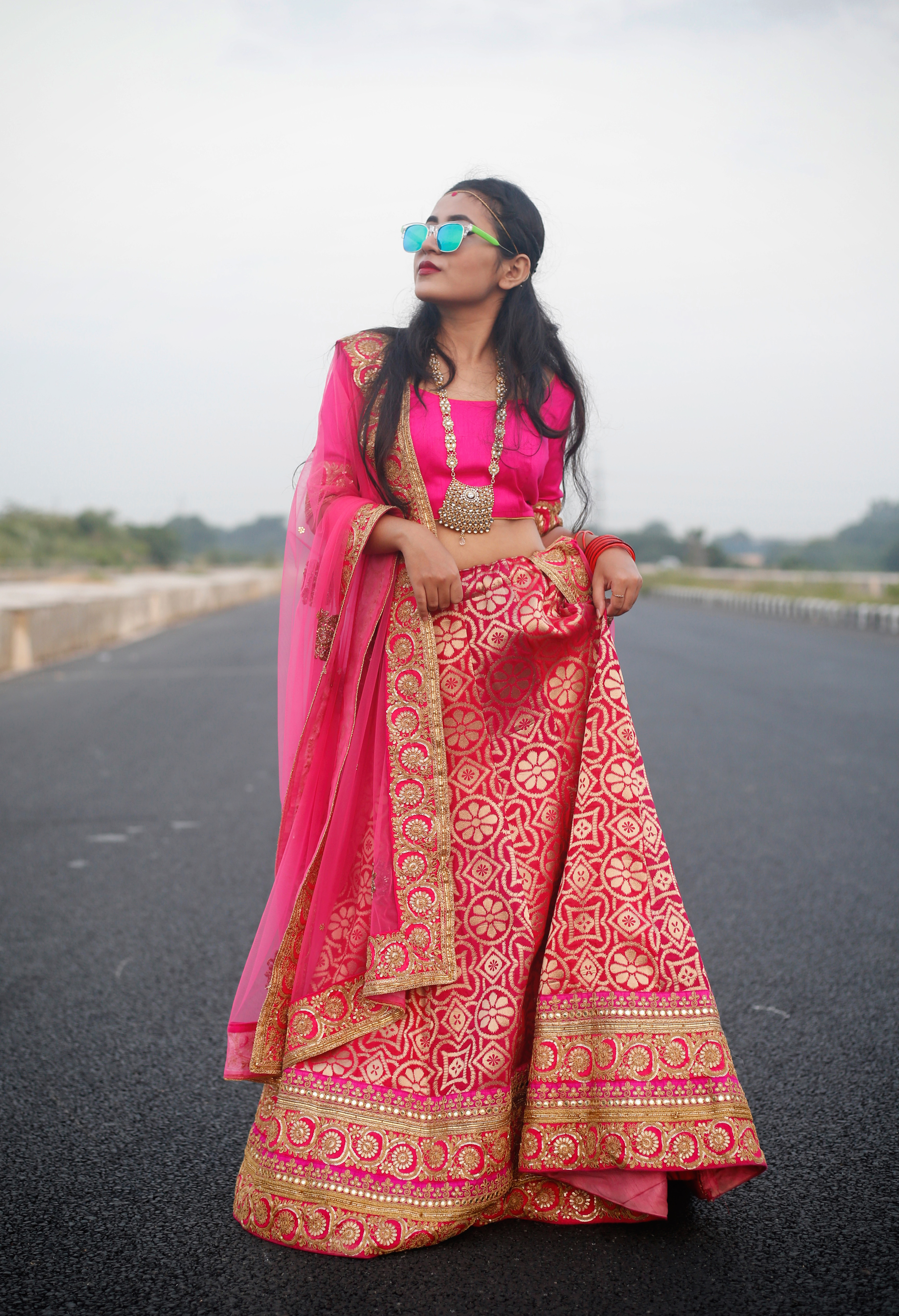 Banarasi Lehenga from Flyrobe