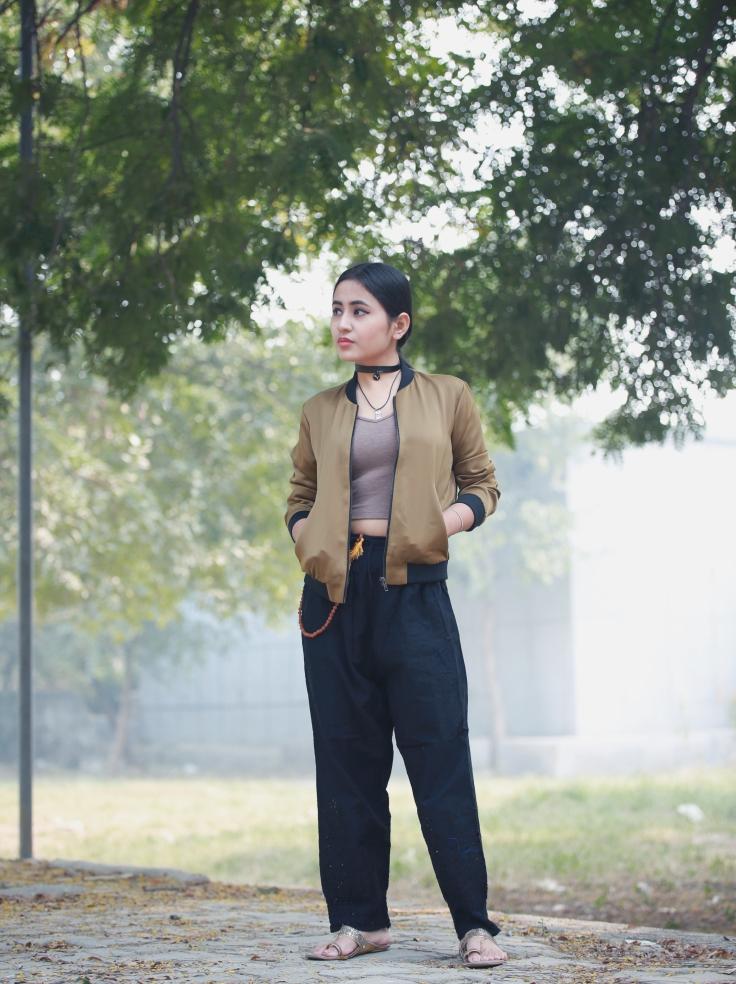 bomber jacket - the fabric fad