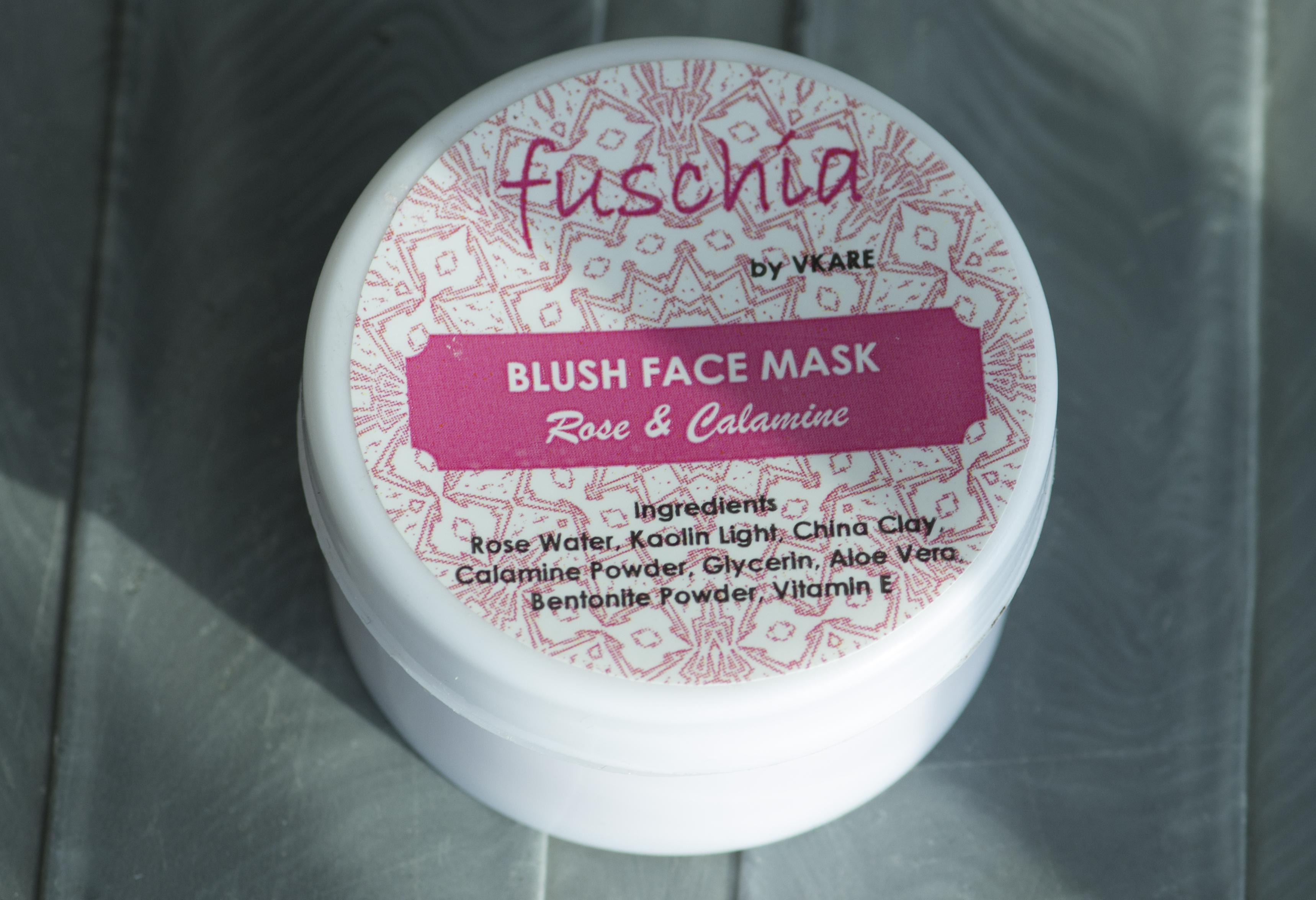 Fuscia Blush Face Mask Review