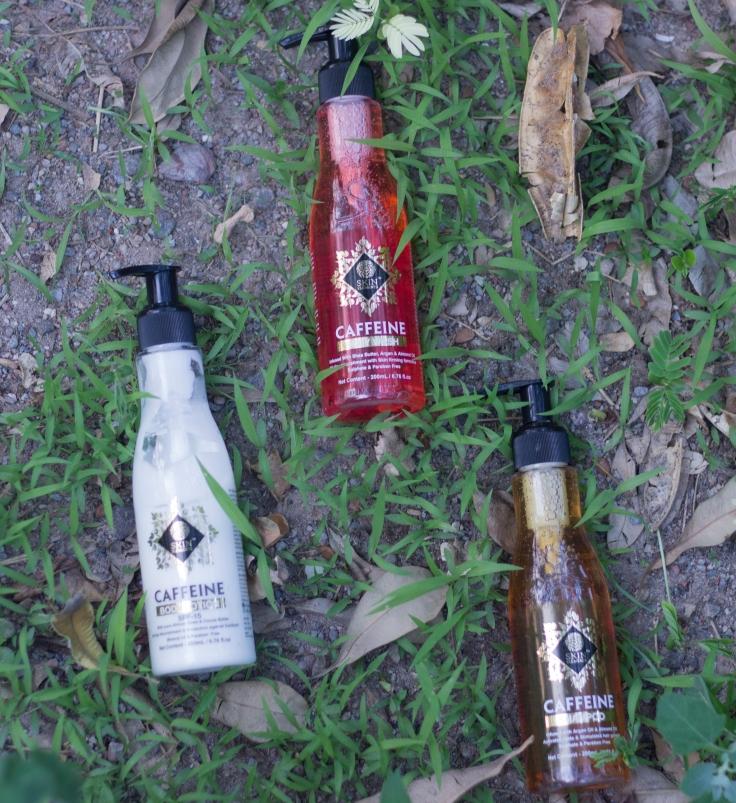 Skin elements caffeine range review