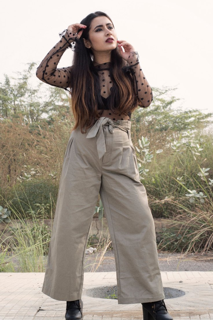 Tied Waist Cotton Pants From Na-kd